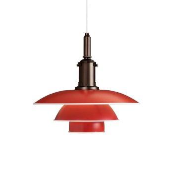 Louis Poulsen Lámpara Colgante Rojo, 1 luz