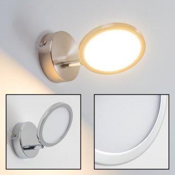 Alberton Aplique LED Marrón claro, 1 luz