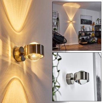 Hofstein Sapri Aplique Níquel-mate, 1 luz