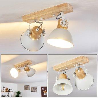 Orny Lámpara de Techo Blanca, 2 luces