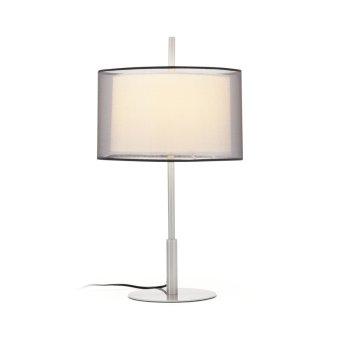 Faro Saba Lámpara de mesa Níquel-mate, 1 luz