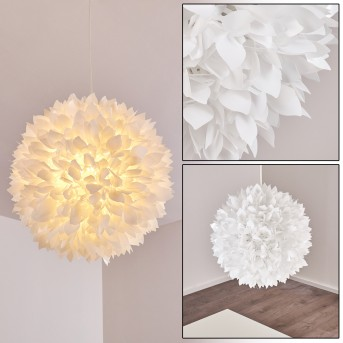 Murten Lámpara Colgante Blanca, 1 luz
