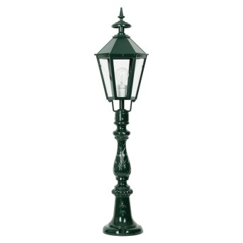 KS Verlichting Oxford Poste de Jardín Verde, 1 luz