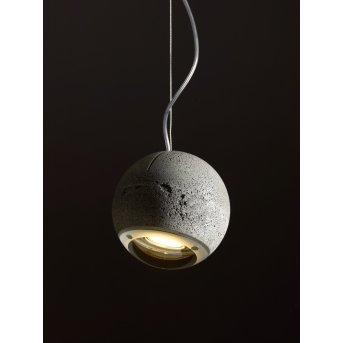 Tecnolumen Trabant Lámpara colgante Apariencia de piedra, 1 luz
