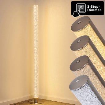 Pipe Lámpara de Pie LED Níquel-mate, 1 luz