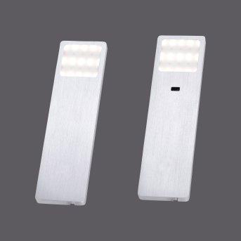 Paul Neuhaus HELENA Lámpara para armarios LED Aluminio, 1 luz, Sensor de movimiento