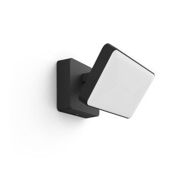 Philips Hue Ambiance White & Color Discover Foco reflector LED Negro, 1 luz, Cambia de color