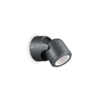 Ideal Lux XENO Aplique para exterior Negro, 1 luz
