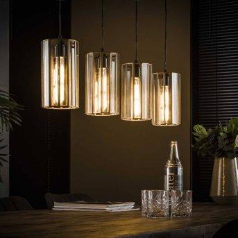 REUZENHOEK Lámpara Colgante Transparente, claro, 4 luces