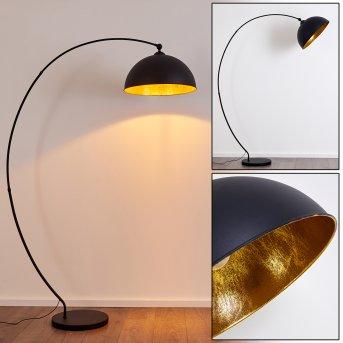 Lámpara de Pie Miranda Negro, 1 luz