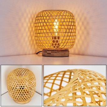 Batumi Lámpara de mesa Marrón, 1 luz