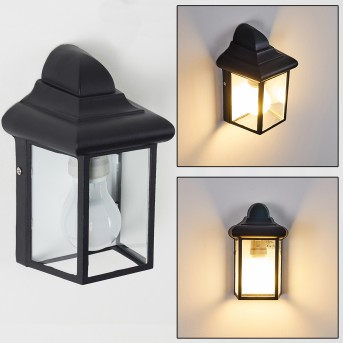 Murto Aplique para exterior Negro, 1 luz
