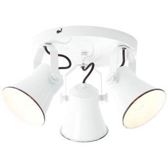 Brilliant Croft Lámpara focos Blanca, 3 luces