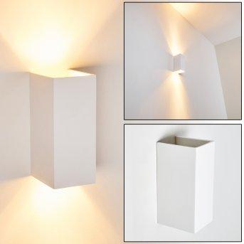 Aversa Aplique Blanca, 2 luces