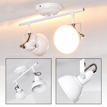 Tina Lámpara de Techo Blanca, 2 luces