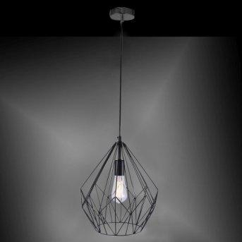 Leuchten-Direkt SKELETTON Lámpara colgante Negro, 1 luz