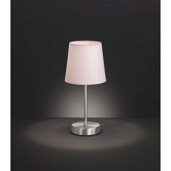 Wofi CESENA Lámpara de Mesa Plata, 1 luz
