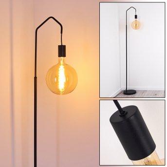 Cuyama Lámpara de Pie Negro, 1 luz