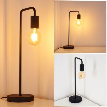 Valocolla Lámpara de Mesa Negro, 1 luz