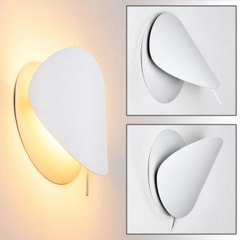 Tikung Aplique Blanca, 1 luz