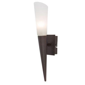 Nino Leuchten RIVERPOOL Aplique LED Color óxido, 1 luz