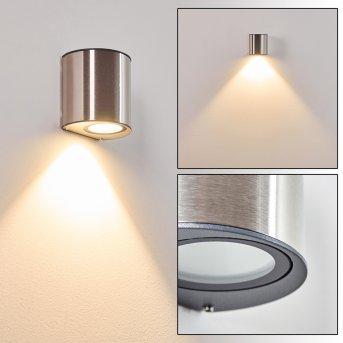 Vano Aplique para exterior LED Acero inoxidable, 1 luz
