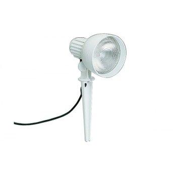 Albert 2123 Foco proyector jardin Blanca, 1 luz