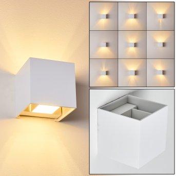 Badajoz Aplique LED Blanca, 1 luz