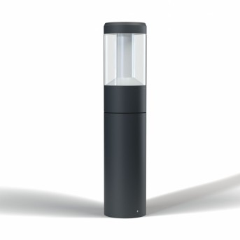 LEDVANCE SMART+ Poste de Jardín Gris, 1 luz, Cambia de color