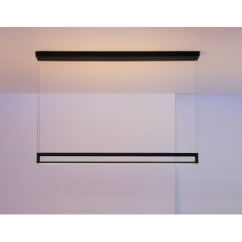 Escale Akio Lámpara Colgante LED Negro, 2 luces