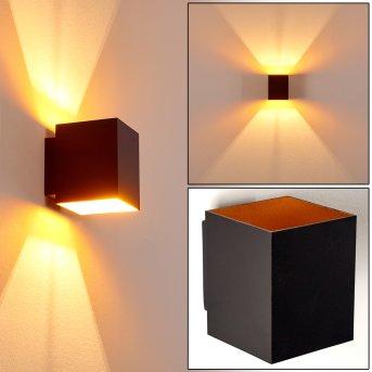 Laforsen Aplique Negro-dorado, 1 luz