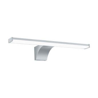 Eglo PANDELLA Lámpara de espejos LED Cromo, Plata, 1 luz, Sensor de movimiento