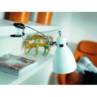 Nordlux CYCLONE Lámpara con pinza Blanca, 1 luz