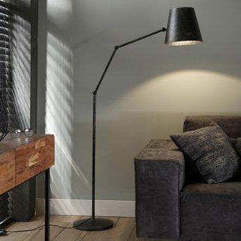 Lámpara de Pie Westhoven Gris, 1 luz