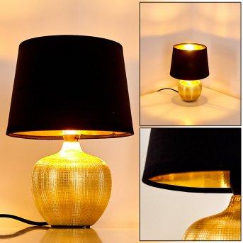 Stampa Lámpara de Mesa dorado, 1 luz
