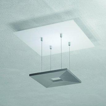 Escale ZEN D2W Lámpara de Techo LED Antracita, Blanca, 4 luces