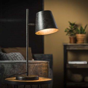 Dwingeloo Lámpara de Mesa Antracita, 1 luz