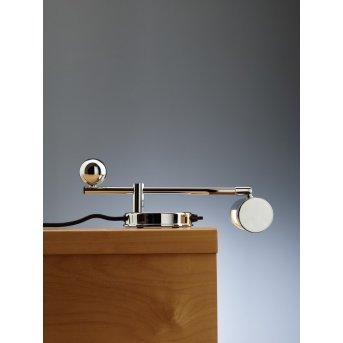 Tecnolumen DS 28 Lámpara de mesa Cromo, 1 luz
