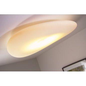 Linea Light Mr.Magoo Lámpara de techo Blanca, 1 luz