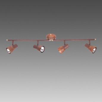 Brilliant Lava Lámpara de techo Cobre, 4 luces