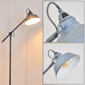 Luven Lámpara de Pie Gris, 1 luz