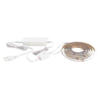 EGLO LED-STRIPE-A Banda luminosa Blanca, 1 luz, Mando a distancia