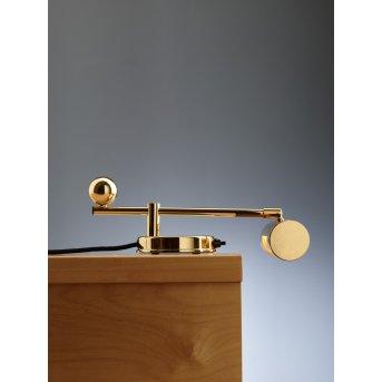 Tecnolumen DS 28 Lámpara de mesa Latón, 1 luz