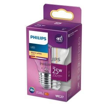 Philips LED E27 2 Watt 2700 Kelvin 250 Lumen