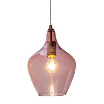 Nino Leuchten PASO Lámpara Colgante Rosa, 1 luz