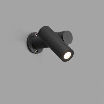 Faro Barcelona Spy-1 Aplique Gris, 1 luz