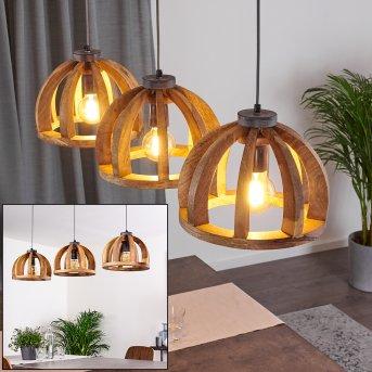 Tabua Lámpara Colgante Gris, 3 luces
