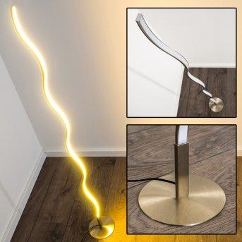 Dillon Lámpara de pie LED Níquel-mate, 1 luz