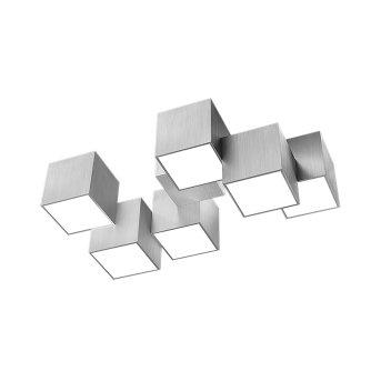 Grossmann ROCKS Lámpara de Techo LED Aluminio, 6 luces