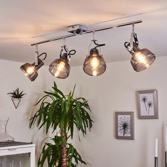 Lulea Lámpara de Techo Cromo, 4 luces